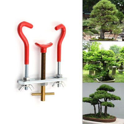 Alloy Steel Garden Care Gardening Bonsai Tool Kit Treen Branch Trunk Bender UQ