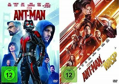 Ant-Man + Ant-Man and the Wasp DVD Set NEU OVP Ant-Man Teil 1+2