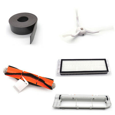For Xiaomi Mi Robot Cleaner Original Side Brushes+Filter+Cover+ Magnetic Stripes