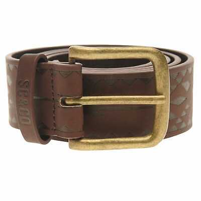 SoulCal Native Belt Mens Gents Pattern Buckle Fastening