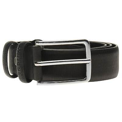 Kangol Ribbed Belt Mens Gents Pattern Buckle Fastening