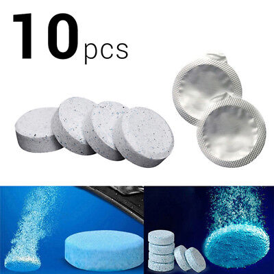 10x Car Windscreen Window Cleaner Wash Tab Glass Effervescent Tablets Auto Care#