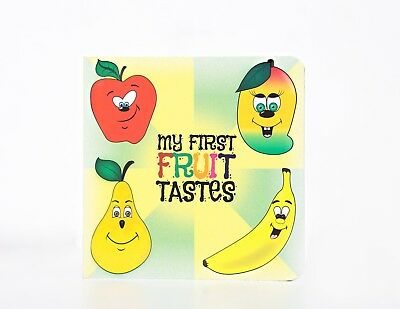 Baby Board Book 'My First Fruit Tastes' - Baby's First Library Book