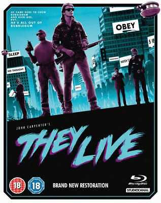 They Live (Blu-Ray) (New)