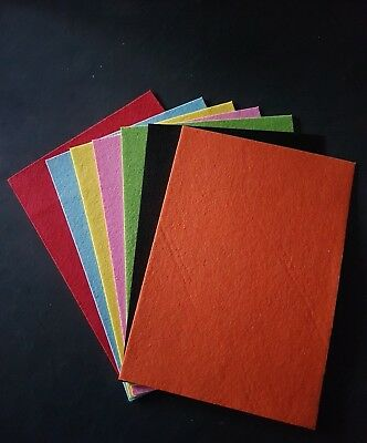 A4 Felt Sheets for Crafting Art Craft Activity - Choice Of 7 Colours or Mix Pack