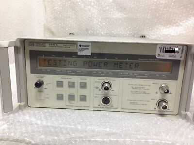 HP 5347A Counter Power Meter 10Hz to 20GHz