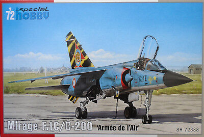 Special Hobby 1/72 SH72388 Dassault Mirage F.1C/C-200 Armee de l'Air  Model Kit
