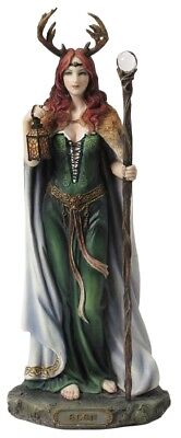 Elen Of The Ways - Celtic Goddess Of The Forrest Statue Sculpture Figurine