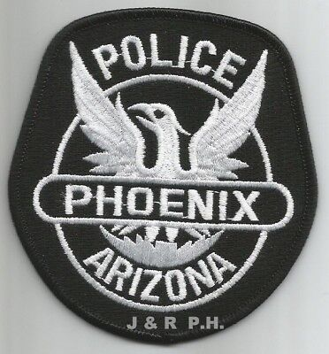 "Phoenix  subdued, AZ  (3.5"" x 3.75"" size)  shoulder police patch (fire)"
