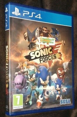 Sonic Forces Playstation 4 PS4 NEW SEALED Free UK p&p UK Pal