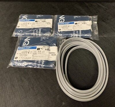 Critikon Ref #2206 Adult Long Double Bladder Cuff + Hoses *Lot Of 3*