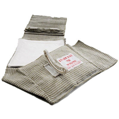 "First Care 6"" Israeli Emergency Bandage with Pressure Bar and Second Mobile Pad"