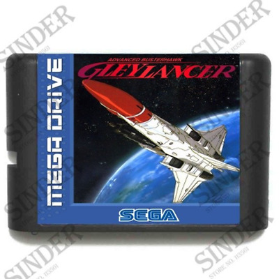 Gleylancer 16 bit MD Game Card For Sega Mega Drive For Genesis