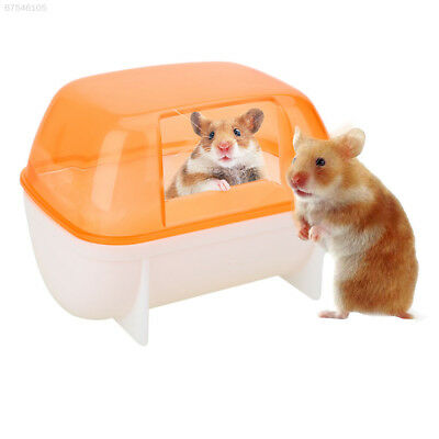 642D 1616 Hamster Bathroom Sand Activity Room House Sauna Toilet Bathtub Plastic