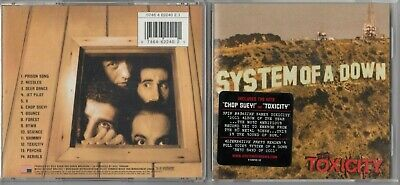 System of a Down  - Toxicity (CD, Sep-2001, Sony Music Distribution (USA)) HYPE