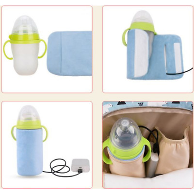 Milk Bottle Keep Warm Holder USB Baby Warmer Travel Thermal Feeding Bag Case