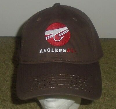 Nwot Anglers All Fly Fishing Trout Baseball Cap One Size Fits Most