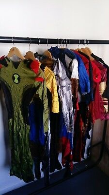 Fancy Dress Bundle Age 3/4/5/-8 **** superheros