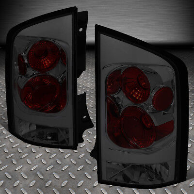 For 05-15 Nissan Armada Pair Smoked Lens Tail Light Brake/parking/reverse Lamps