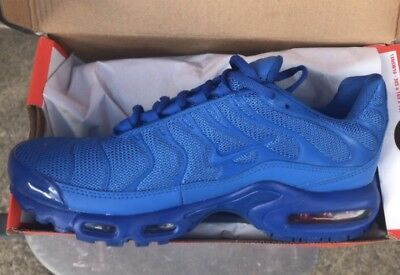 low priced 2d7cc 5f9ad MENS NIKE TNS all blue - New boxed
