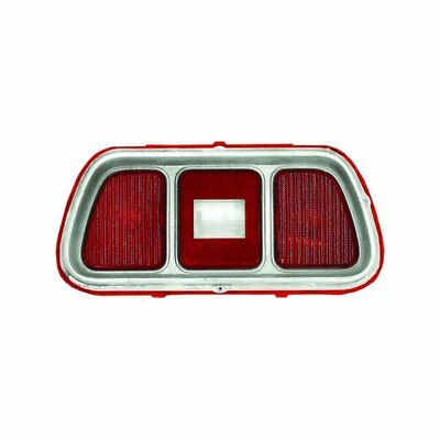 71 - 73 Mustang Tail Lamp / Light Lens With Molding