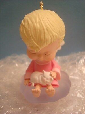 "Hallmark Mary's Angels Series Collectible Ornaments #17 2004 ""Sweet Pea"""
