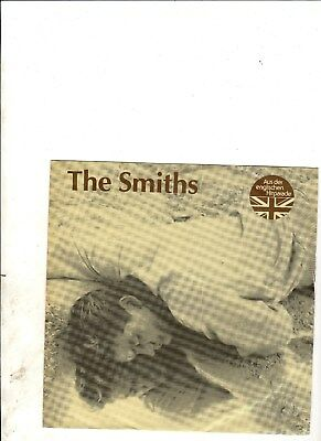 """SMITHS This Charming Man GERMAN 7"""" w/PS INDIE Morrissey"""