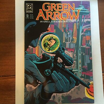 Green Arrow #13 (Holiday 1988, DC)