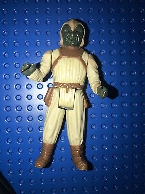 Vintage 1983 Kenner Star Wars ROTJ Jabba The Hutt Klaatu Skiff Guard Figure Lot