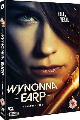 WYNONNA EARP 3 (2018): Supernatural Western TV Season Series - Eu Rg2 DVD not US