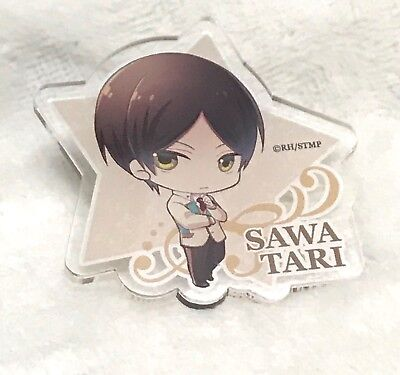 Starmyu, Eigo Sawatari Clear Acrylic Star Clip, One Sided, 2 x 2 Inches