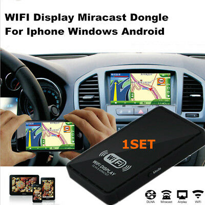 Car AV HDMI Input Port Wifi Mirroring Airplay Display For Iphone Windows Android