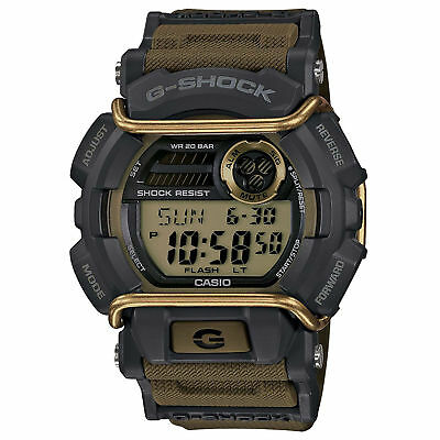 Casio Men's GD400-9 'G-Shock' Chronograph Green Resin Watch