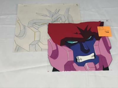 Transformers Japanese Beast Wars 2 Ii Galvatron Animation Art Cell Lot 290