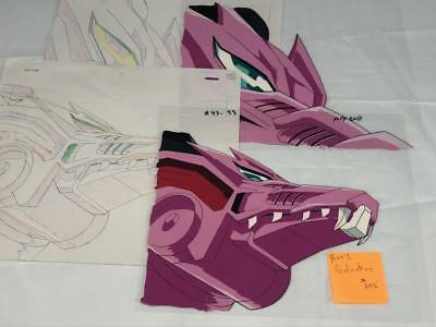 Transformers Japanese Beast Wars 2 Ii Galvatron Animation Art Cell Lot 292