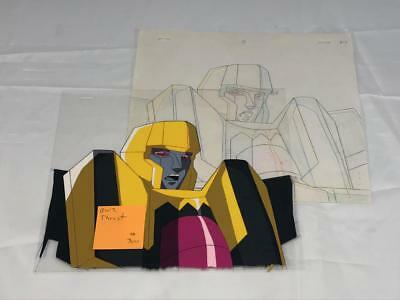 Transformers Japanese Beast Wars 2 Ii Thrust Animation Art Cell Lot 300