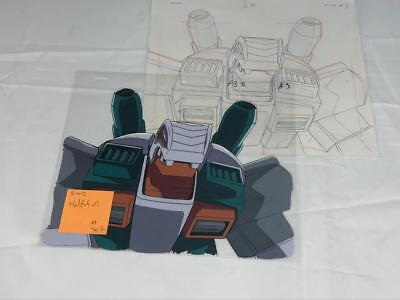 Transformers Japanese Beast Wars 2 Ii Halfshell Animation Art Cell Lot 307