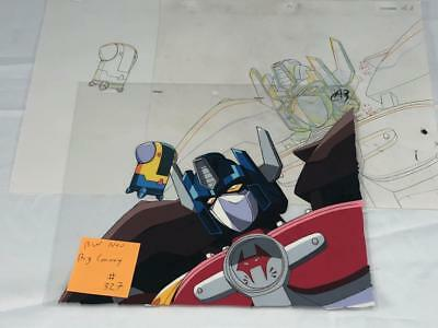 Transformers Japanese Beast Wars 2 Neo Big Convoy Animation Art Cell Lot 327