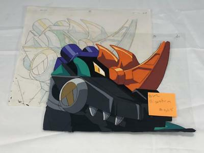 Transformers Japanese Beast Wars 2 Ii Gigastorm Animation Art Cell Lot 325