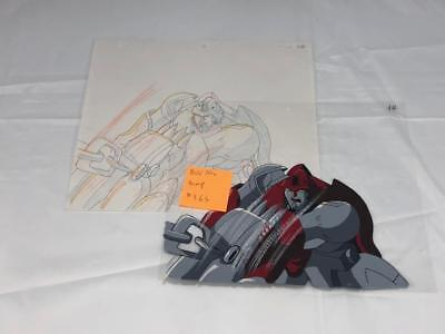 Transformers Japanese Beast Wars Neo Bump Animation Art Cell Lot 363
