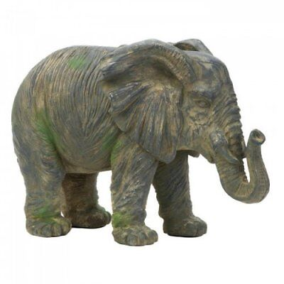 Weathered Elephant Statue (Accent Plus)