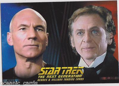 Star Trek The Next Generation Trading Cards Heroes And Villians Promo Card P3
