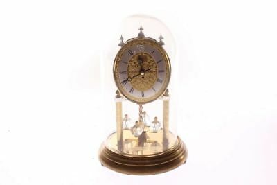 Linden Quartz Anniversary Style Glass Dome Clock