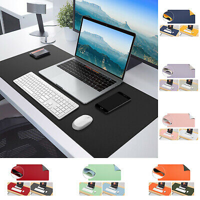 MoKo Large Extended Gaming Computer Mouse Pad Non-Slip Keyboard Mat Double Side