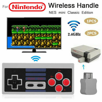 Wireless Game Controller Gamepad for NES Classic Edition Nintendo Mini Console