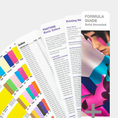 Pantone Farbfächer solid uncoated 2018