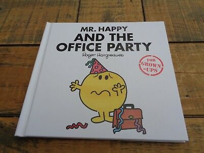 Mr Happy and the Office Party - Adult humour, Mr Men