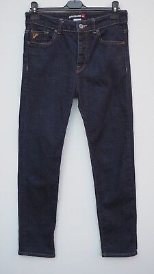 BNWOT QUIKSILVER Ladies Dark Blue Stretch Slim Leg Jeans UK 10 / US 28