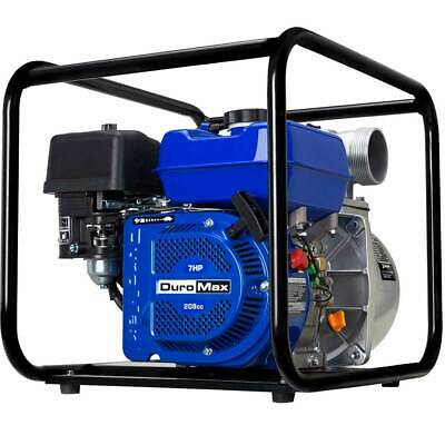 DuroMax XP650WP 3'' Portable 7 HP Gas Power Water Trash Pump NPT Threaded