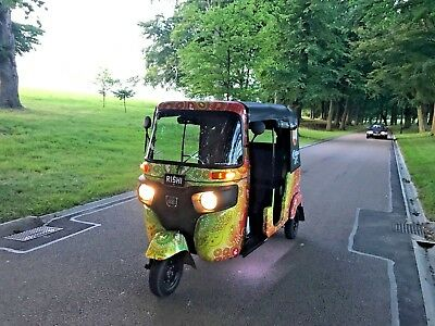 Bajaj Tuk Tuk Auto Rickshaw  Fully Customised one of a kind  65 Plate